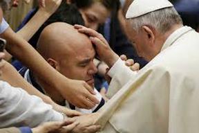 Annointing - Papa Francis