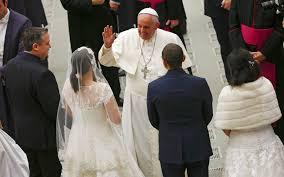Holy Matrimony - Papa Francis